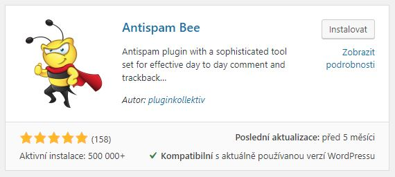 antispam bee WP plugin